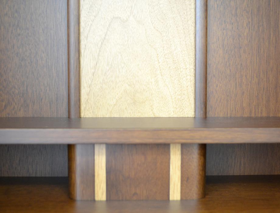 モダン上置仏壇 [きゅういん] 18号ダーク画像11