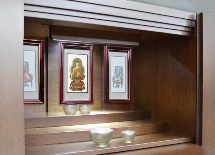 壁掛け掛け軸、綺羅イメージ4