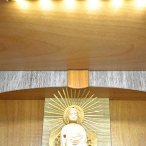 モダン上置コンパクト仏壇 [夢soJAPAN 四葉のクローバー ]画像7