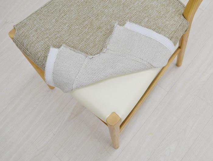 仏壇用椅子、れんげ、カバーリング