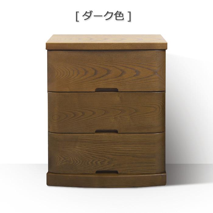 仏壇台「ばんり」3段 タモ材 ダーク色/ライト色画像3