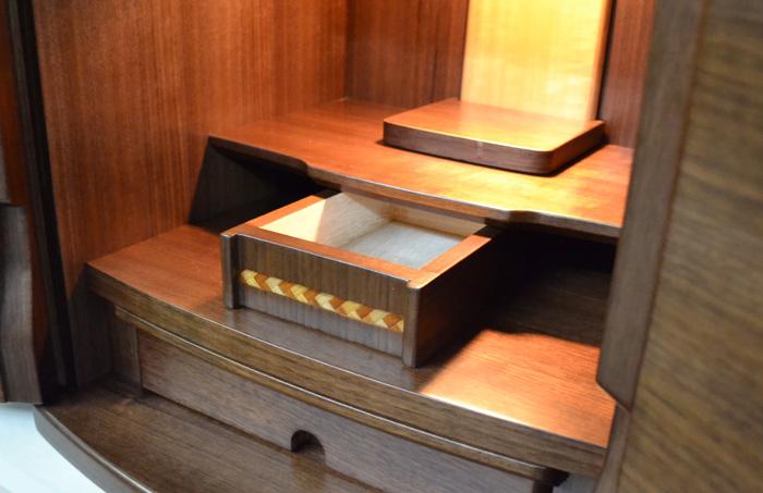 上置き仏壇、しゃれん、形見箱